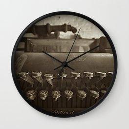 cash is king  Wall Clock