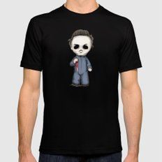 Halloween Plushie Black MEDIUM Mens Fitted Tee