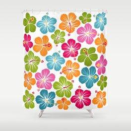 Hibiskus 2 Shower Curtain