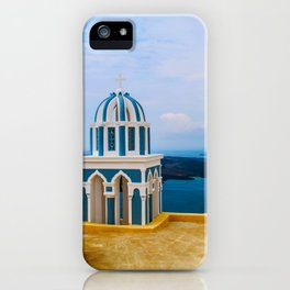 Church with a view iPhone Case