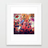 girly Framed Art Prints featuring girly by pepite