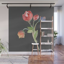 tulips (version #2) Wall Mural