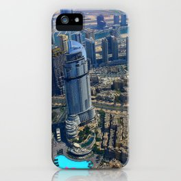 View from the Burj Khalifa iPhone Case
