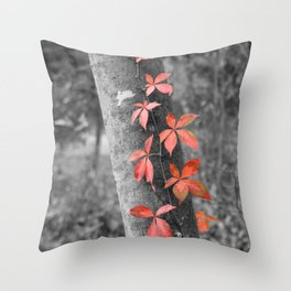 Creeper Throw Pillow