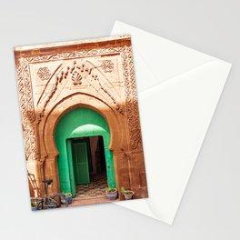 Emerald Door, Morocco Stationery Cards