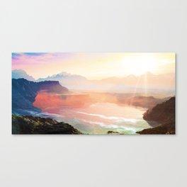 Sunrise Grandeur #society6 #decor #buyart Canvas Print