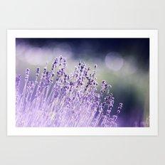 Spring Purple I Art Print