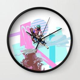 Vroom Wall Clock