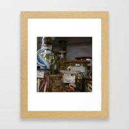 Snakes in Jars Framed Art Print