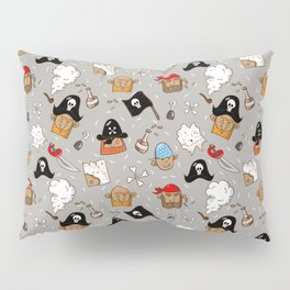 Cheerful pirate Pillow Sham