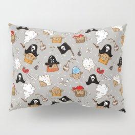 Cheerful pirate Pillow Sham