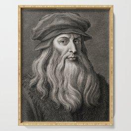 Leonardo da Vinci Serving Tray