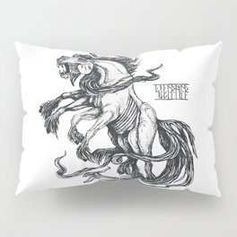 Mythological horse Sleipnir Pillow Sham