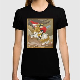 Napoleon Crossing the Alps by  Jacques-Louis David  T-shirt