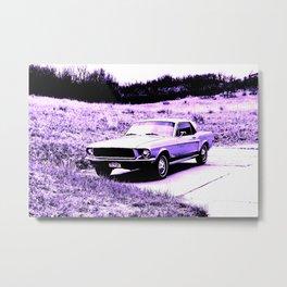 1968 Mustang 02 Metal Print