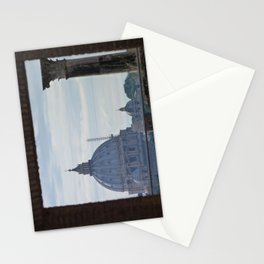 Saint Peter's Basilica framed by Domus Augustea Stationery Cards