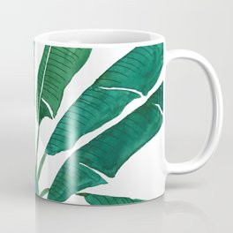 banana leaf watercolor Coffee Mug