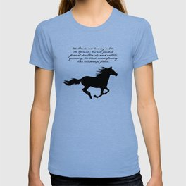 The Black Stallion - Walter Farley T-shirt