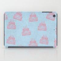happy birthday iPad Cases featuring Happy Birthday by sinonelineman
