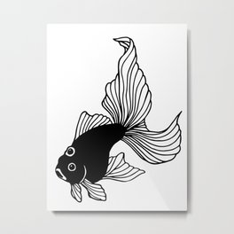 Three-eyed fish Metal Print