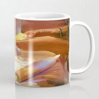 baking Mugs featuring Baking by Karen Herman Jacquez