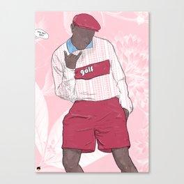 CALL ME SOMETIME. Canvas Print