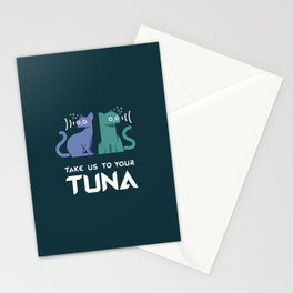 Take Us to Your Tuna Stationery Cards