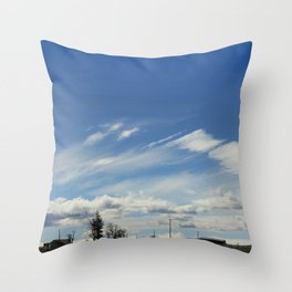 Tract Throw Pillow