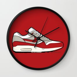 "NIKE Air Max 1 ""OG Red"" Wall Clock"