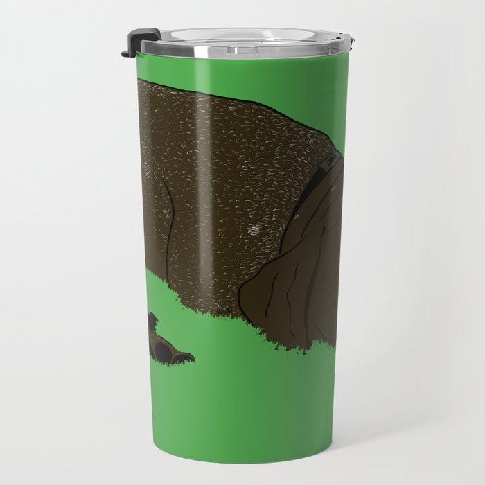 Gunner the German shorthaired pointer Travel Mug