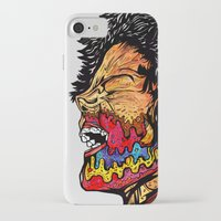 scream iPhone & iPod Cases featuring Scream by Vasco Vicente