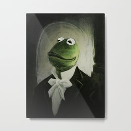 Sir Kermit Metal Print