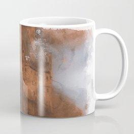 Eltz Castle, Watercolor Coffee Mug