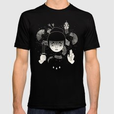 Sacrifice LARGE Mens Fitted Tee Black