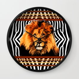Leo the Lion 1 Wall Clock