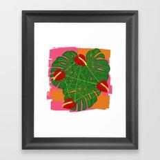 Tropical insanity Framed Art Print