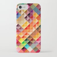 iPhone Cases featuring Abstract colorful by Vickn