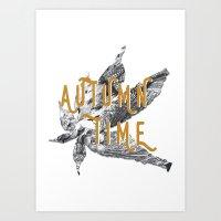 Autumn Time Art Print