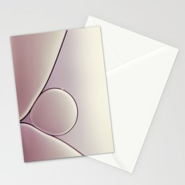oil and water abstract III Stationery Cards