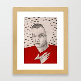 Janine Framed Art Print