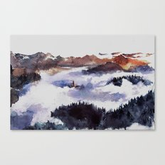 Hidden in the heights Canvas Print