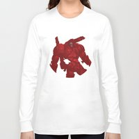 coyote Long Sleeve T-shirts featuring Coyote by ChrisLufthound