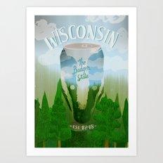 Wisconsin 2 Art Print