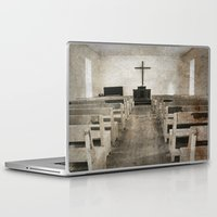 bible verses Laptop & iPad Skins featuring Bible Print by Gia Jury