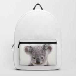 Baby Koala, Baby Animals Art Print By Synplus Backpack