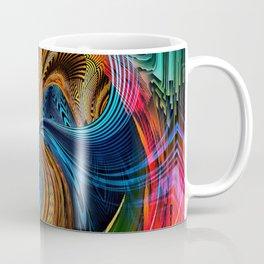 Hyperdimensional Sunbeam Coffee Mug