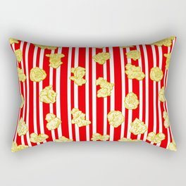 Popcorn Print Rectangular Pillow