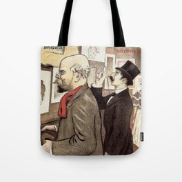 December 1894 7th Salon des 100 Art Expo Paris France Tote Bag