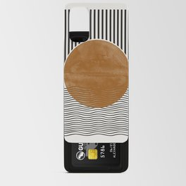 Abstract Modern Poster Android Card Case