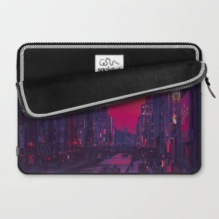 Dotonbori Dusk Laptop Sleeve